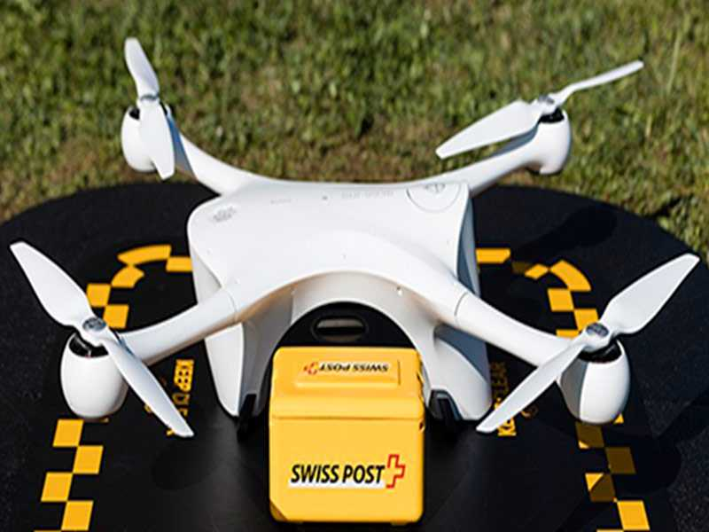 Tecnologia: teste consegue com sucesso entregar materiais de coleta laboratorial através de drone